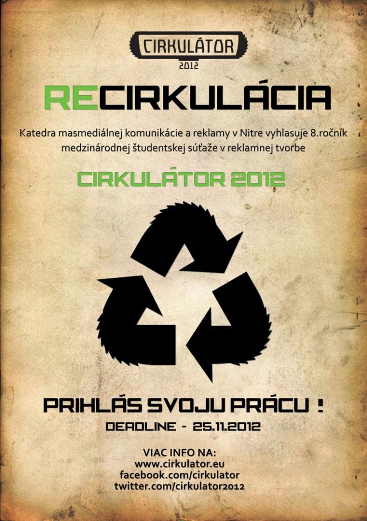 Cirkulator 2012 - tvoja šanca